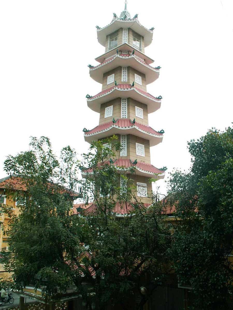 Xa Loi Pagoda Ho Chi Minh City Vietnam
