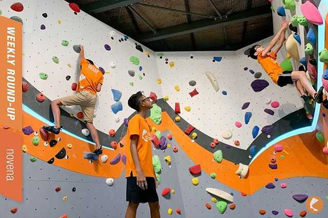 Climb Central for Rock Climbing in Singapore