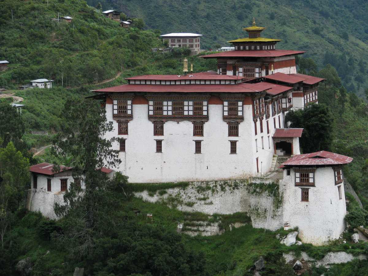 Lhuntse Dzong Bhutan