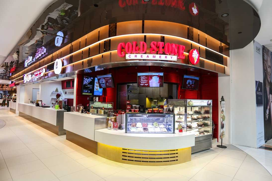 Cold Stone at Plaza Senayan