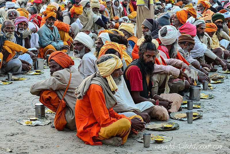 Communal Meals, Dishes at the Kumbh Mela you CANNOT Miss