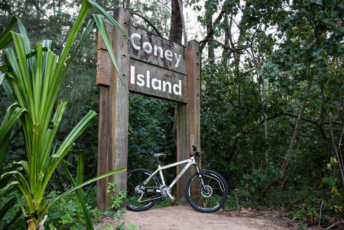 Coney Island, Hiking in Singapore