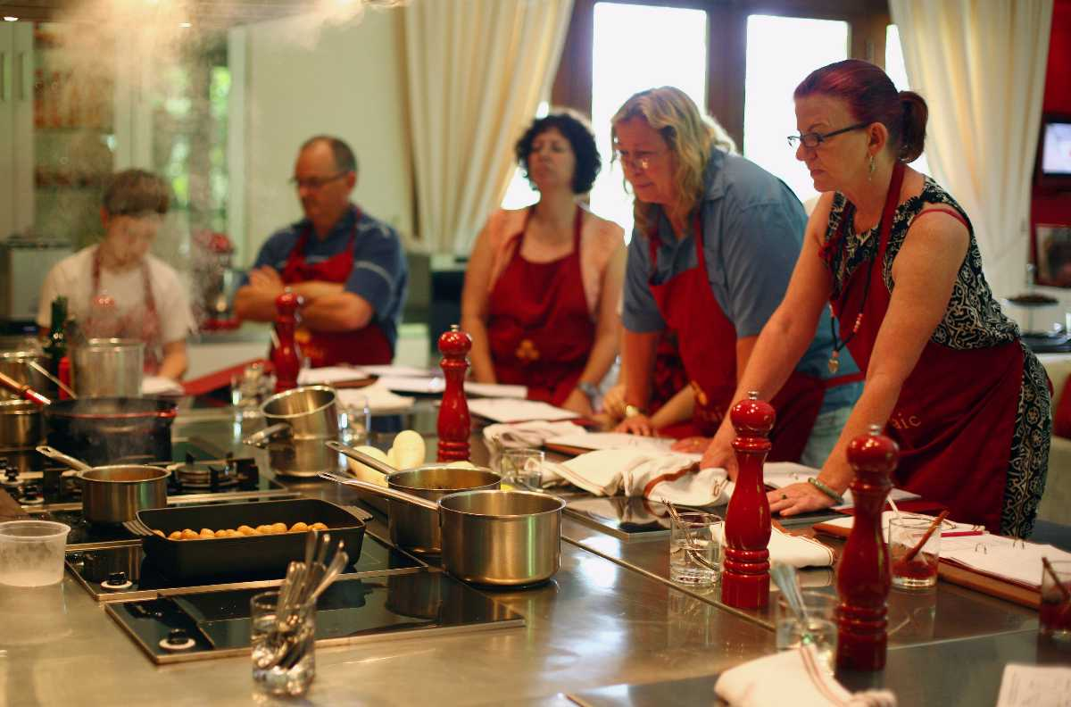 Cooking class at Ubud Food Festival