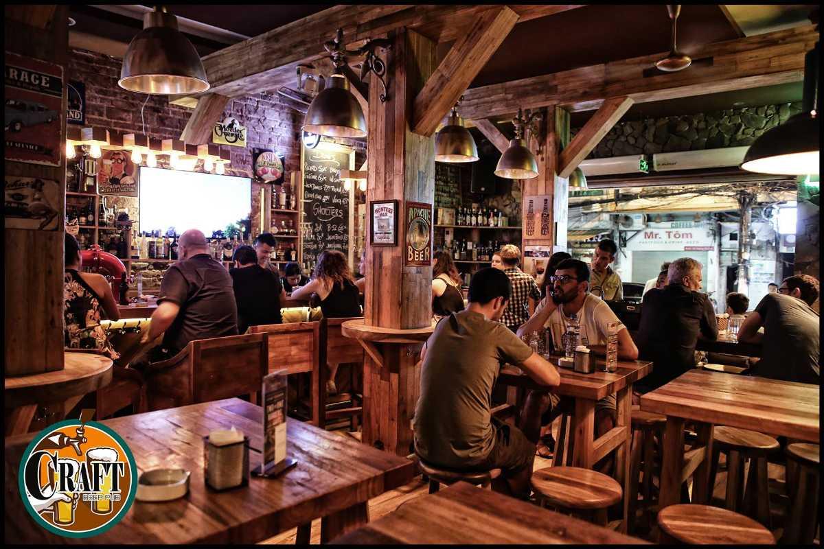 Nightlife in Hanoi, Craft Beer Pub, Vietnam Nightlife