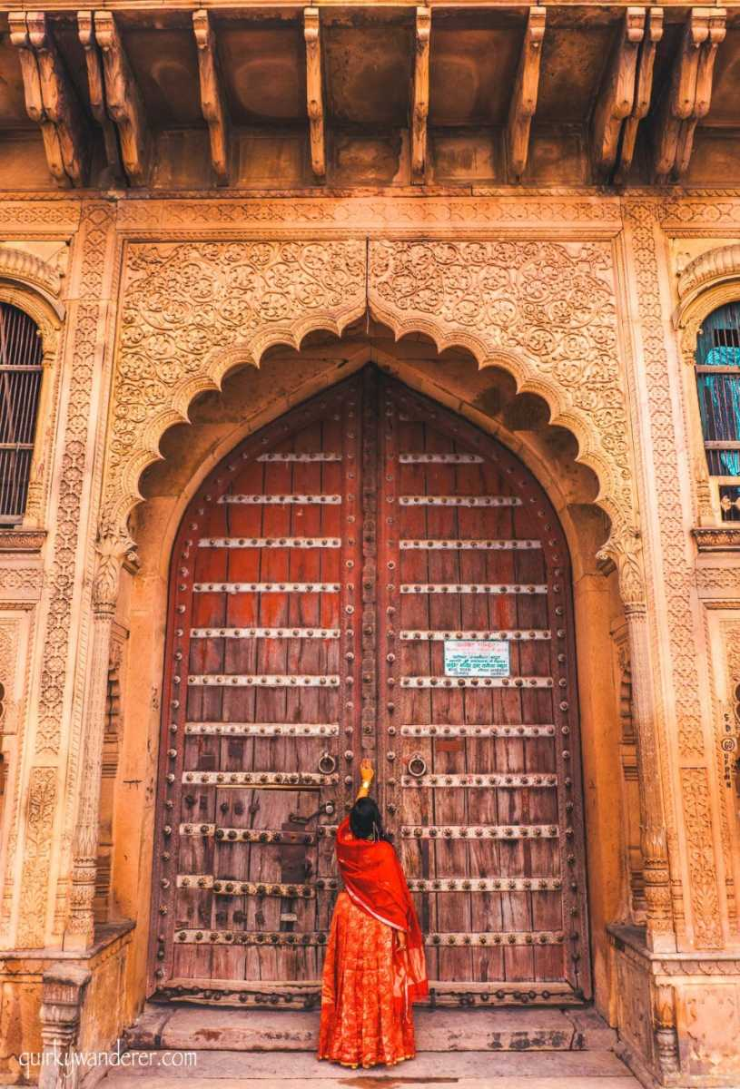 For the love of old doors and havelis