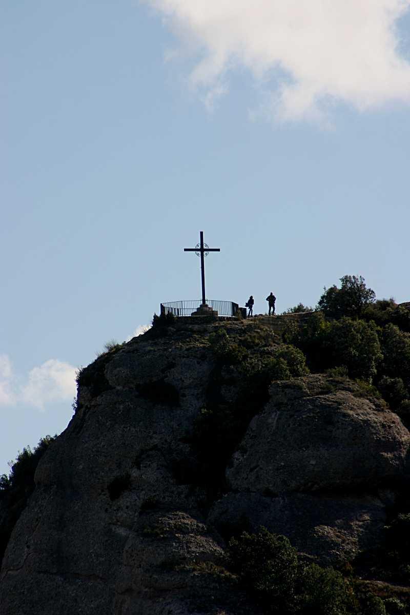sant miguel's cross, Montserrat, attractions in Barcelona
