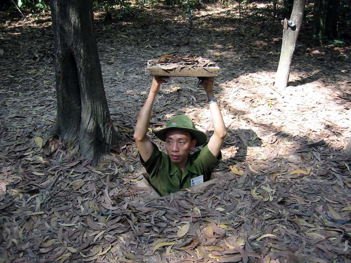 Cu Chi Tunnels, a Fascinating Labyrinth of Underground Caves near Ho Chi Minh City