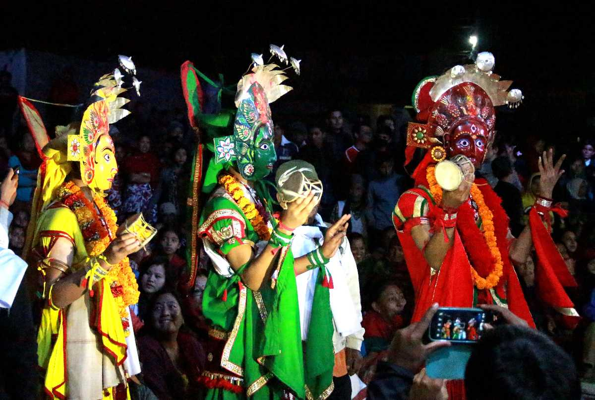 Cultural show, Nightlife in Nepal