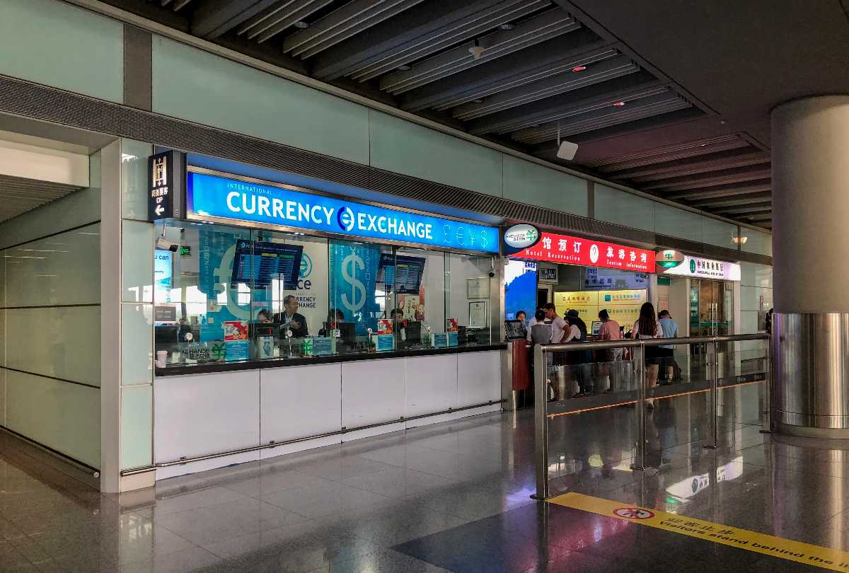 Foreign Currency Exchange Counter in Macau