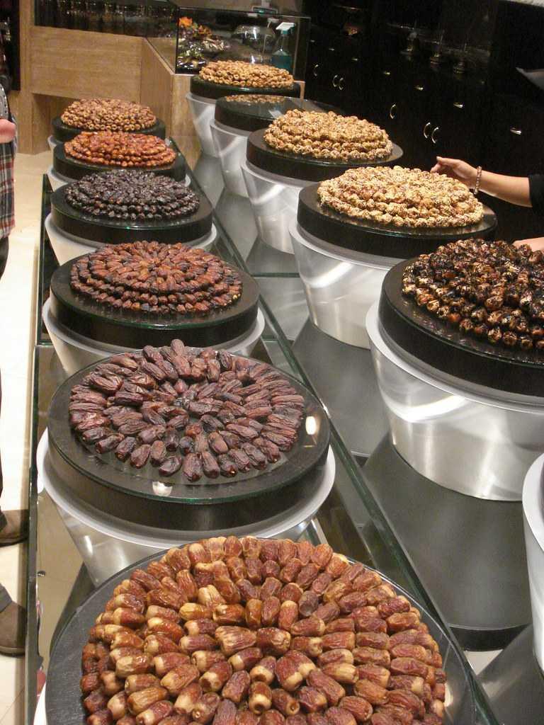 Dates in Abu Dhabi