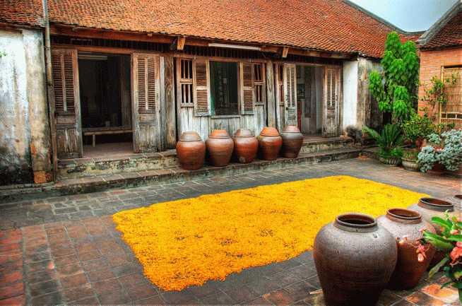 Duong Lam Ancient Village Hanoi Vietnam