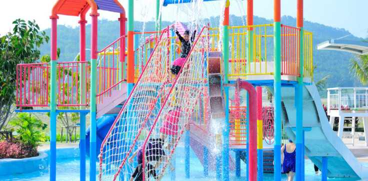 Children's Pool at Black Mountain Water Park