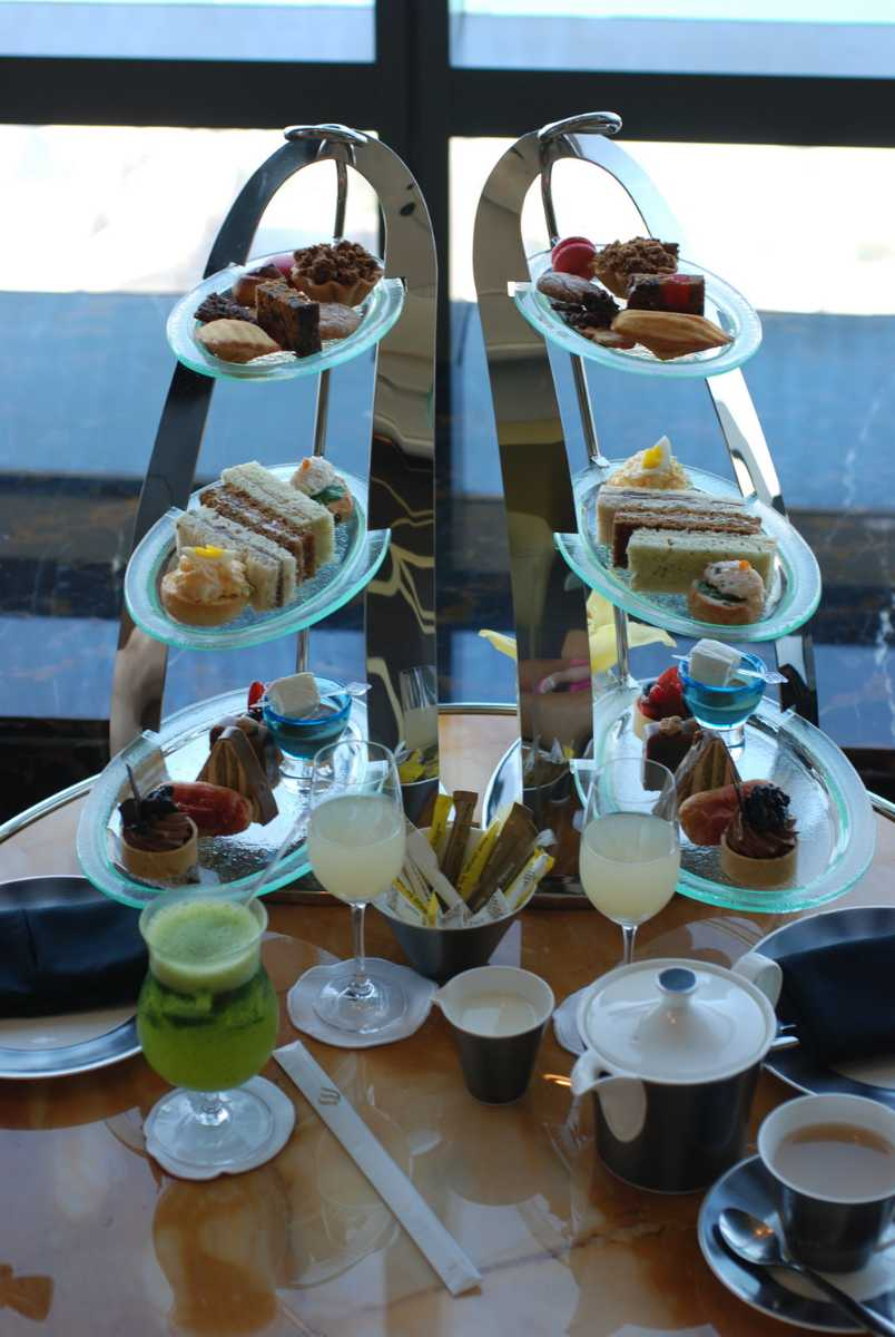 Afternoon High Tea at the Observation Deck at 300