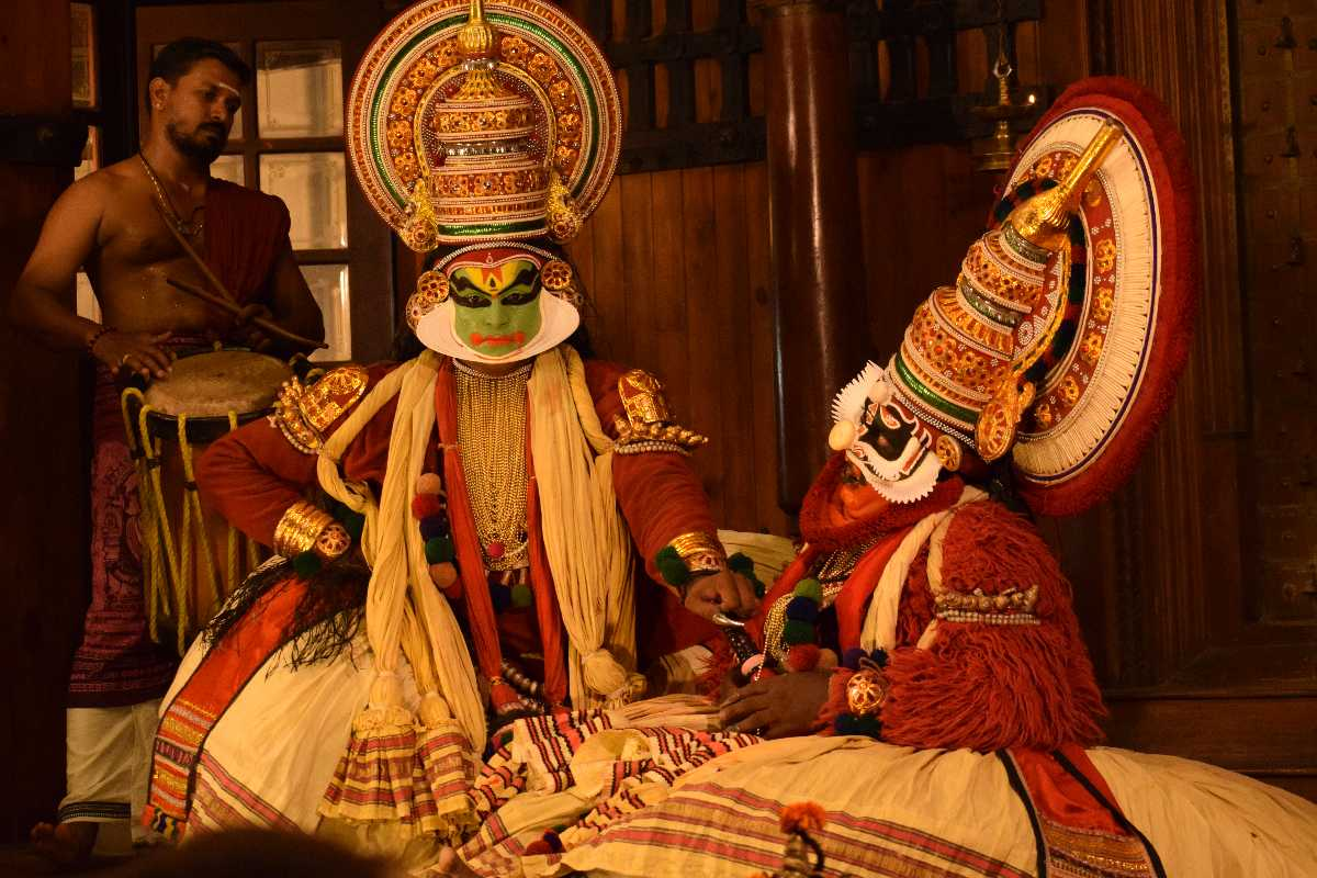Kathakali, Indian Customs and Traditions