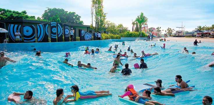 Wave Pool Black Mountain Water Park