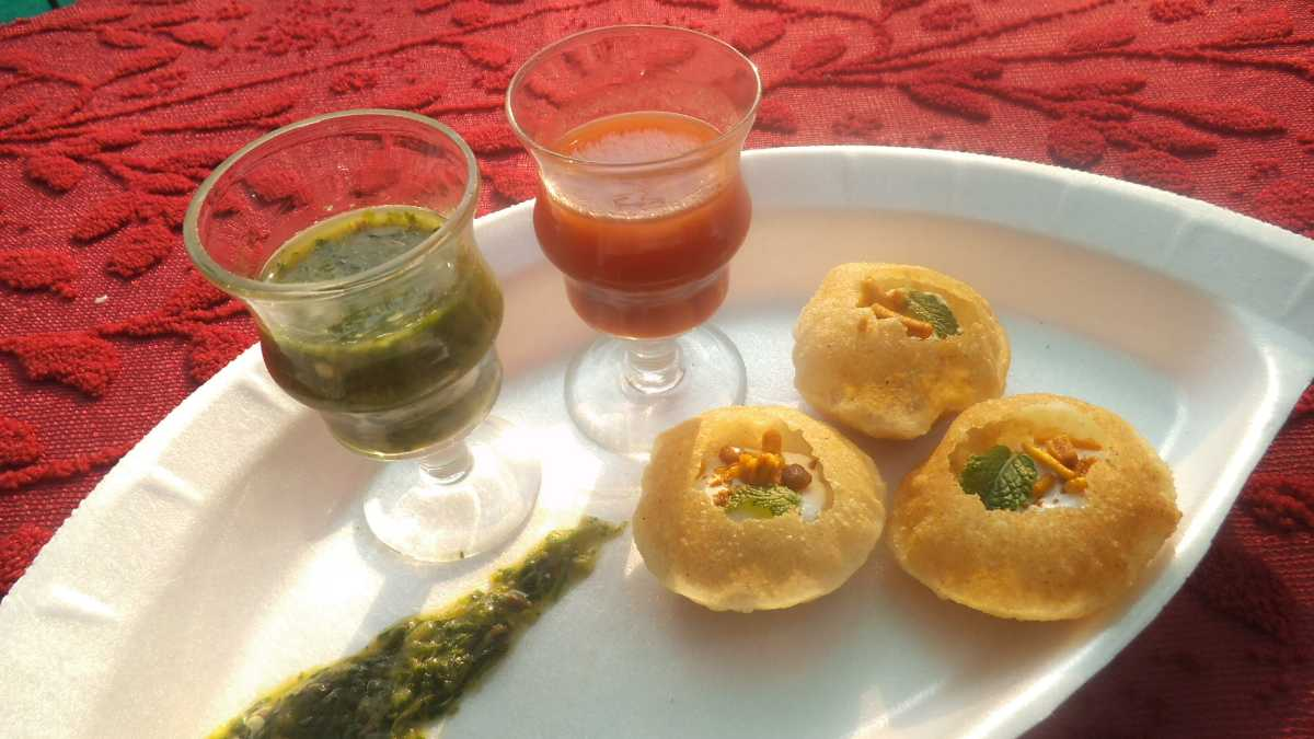 Paani Puri is one of the most popular items