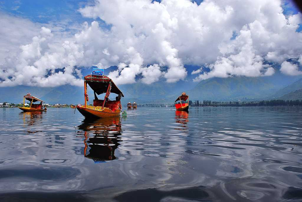 Dal Lake, Boating in India