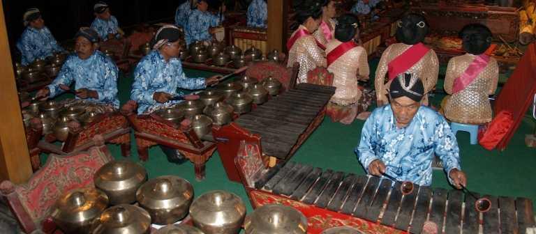Gamelan Exhibit at Vietnam Museum of Ethnology