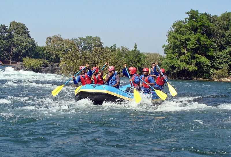 dandeli, River Rafting Spots in India