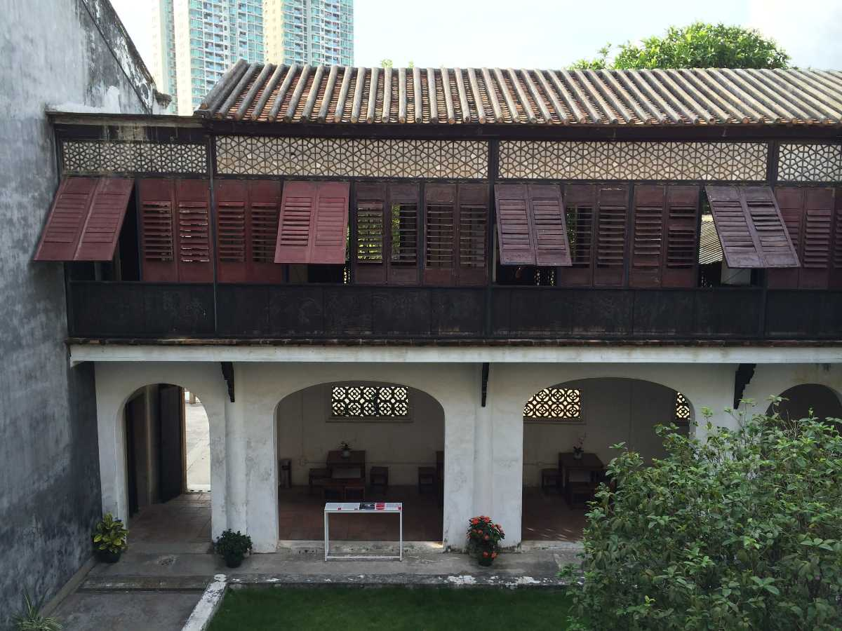 Design of Mandarin's House, Macau