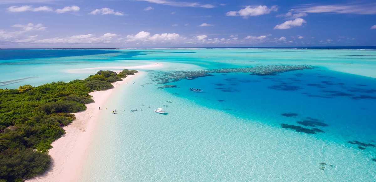 Dhigurah Bikini Beach in Maldives