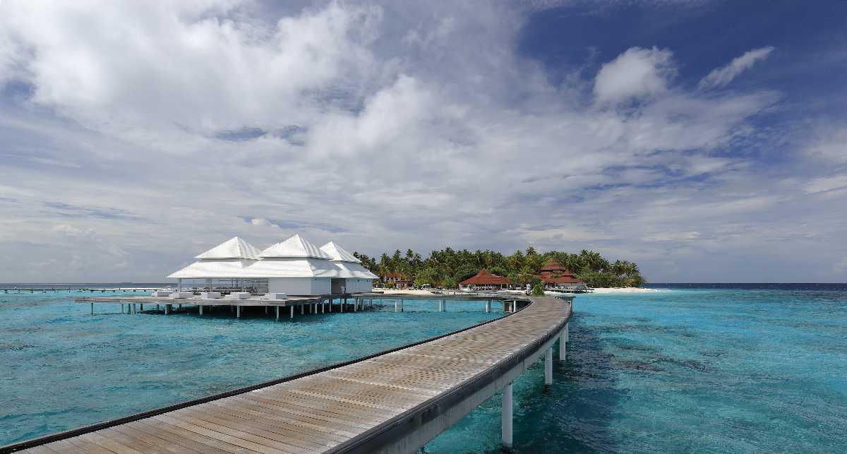 A Beach Resort in Maldives