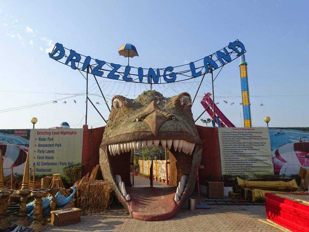 amusement parks in delhi, drizzling land