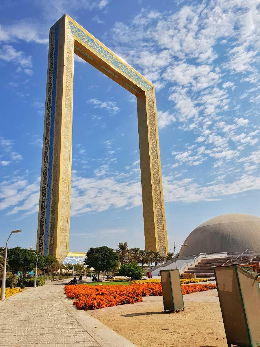 The iconic Dubai Frame