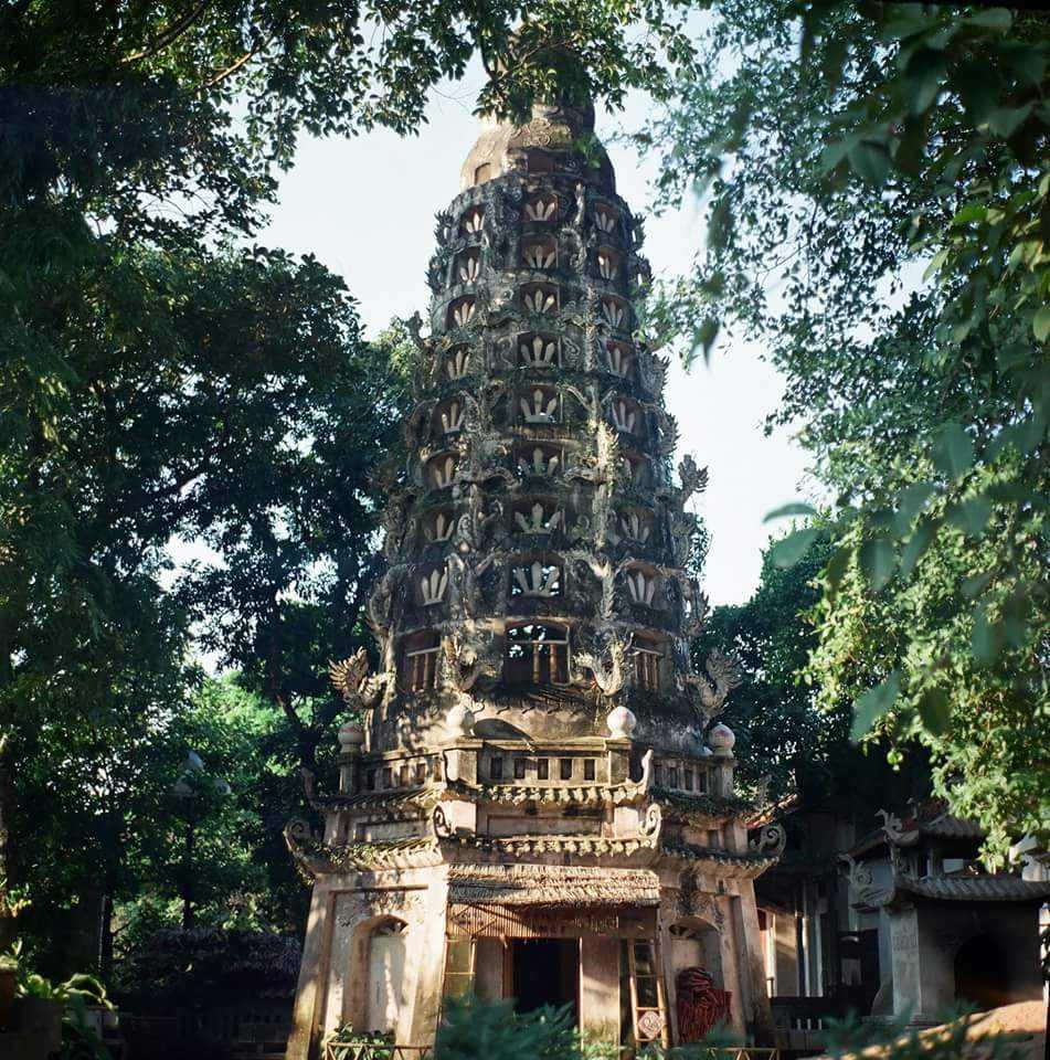 Mia Pagoda in Duong Lam Ancient Village Hanoi