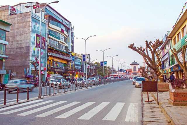 Durbar Marg, Shopping in Kathmandu