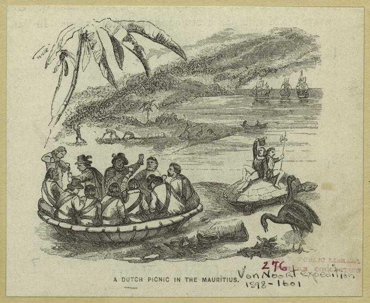 A Dutch picnic in Mauritius, History of Mauritius