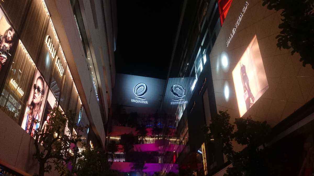 The Three Zones of EmQuartier Mall in Bangkok