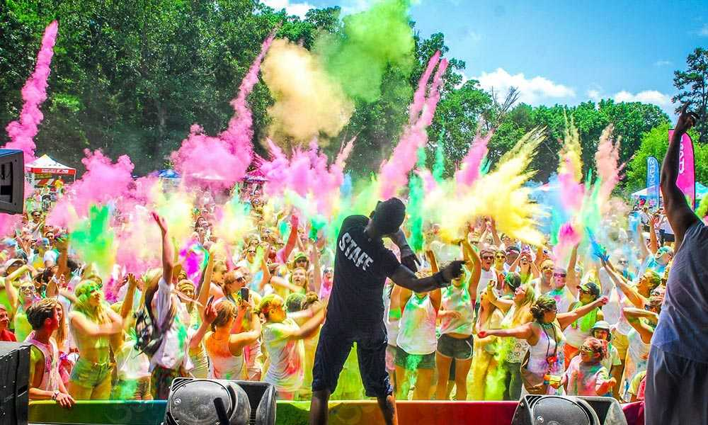 music festivals in india, holi cow