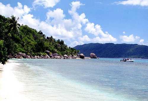 La Penice Beach Felicite Island Seychelles