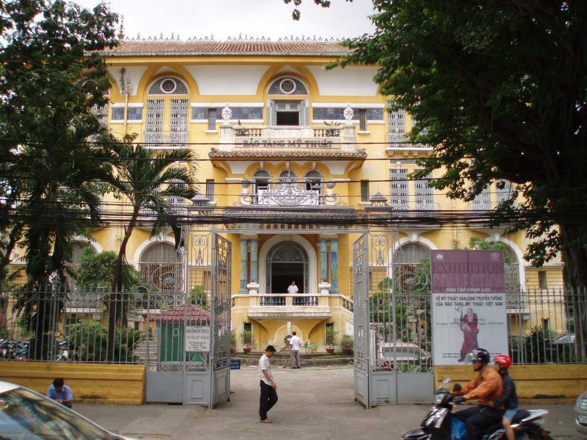 Cheap Places in Ho Chi Minh City, Fine Arts Museum Saigon