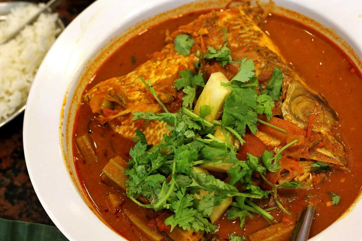 Fish Head Curry, Food and drinks in Singapore