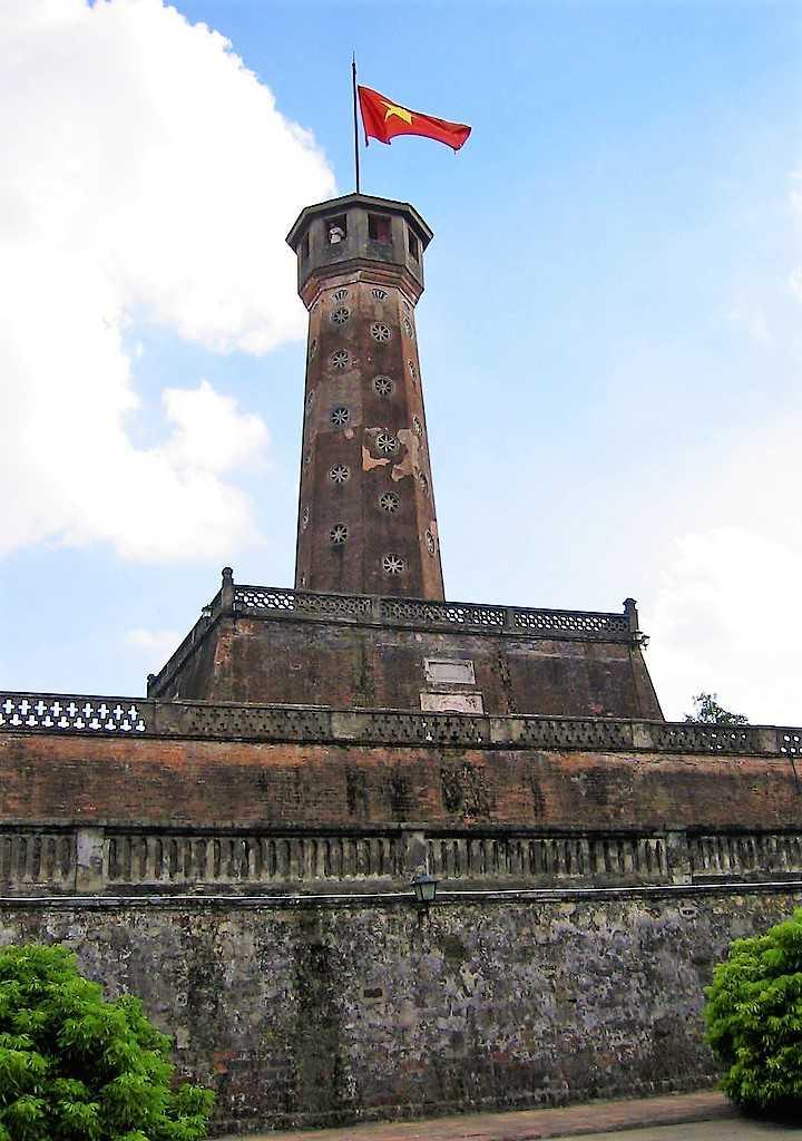 Flag Tower of Hanoi Vietnam