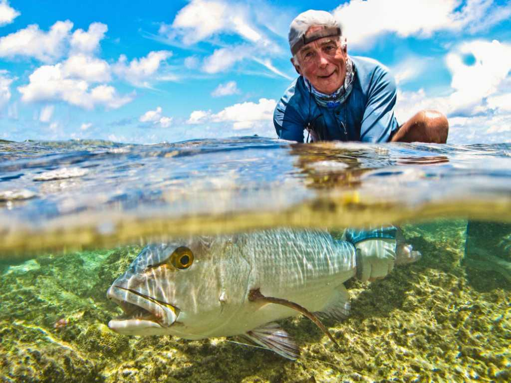 Poivre Atoll, Fly Fishing in Seychelles