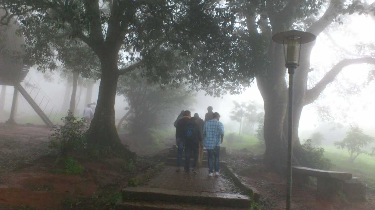 Monsoon showers in Nandi Hills