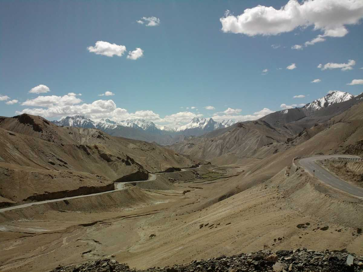 Photi La, Highest motorable roads in India