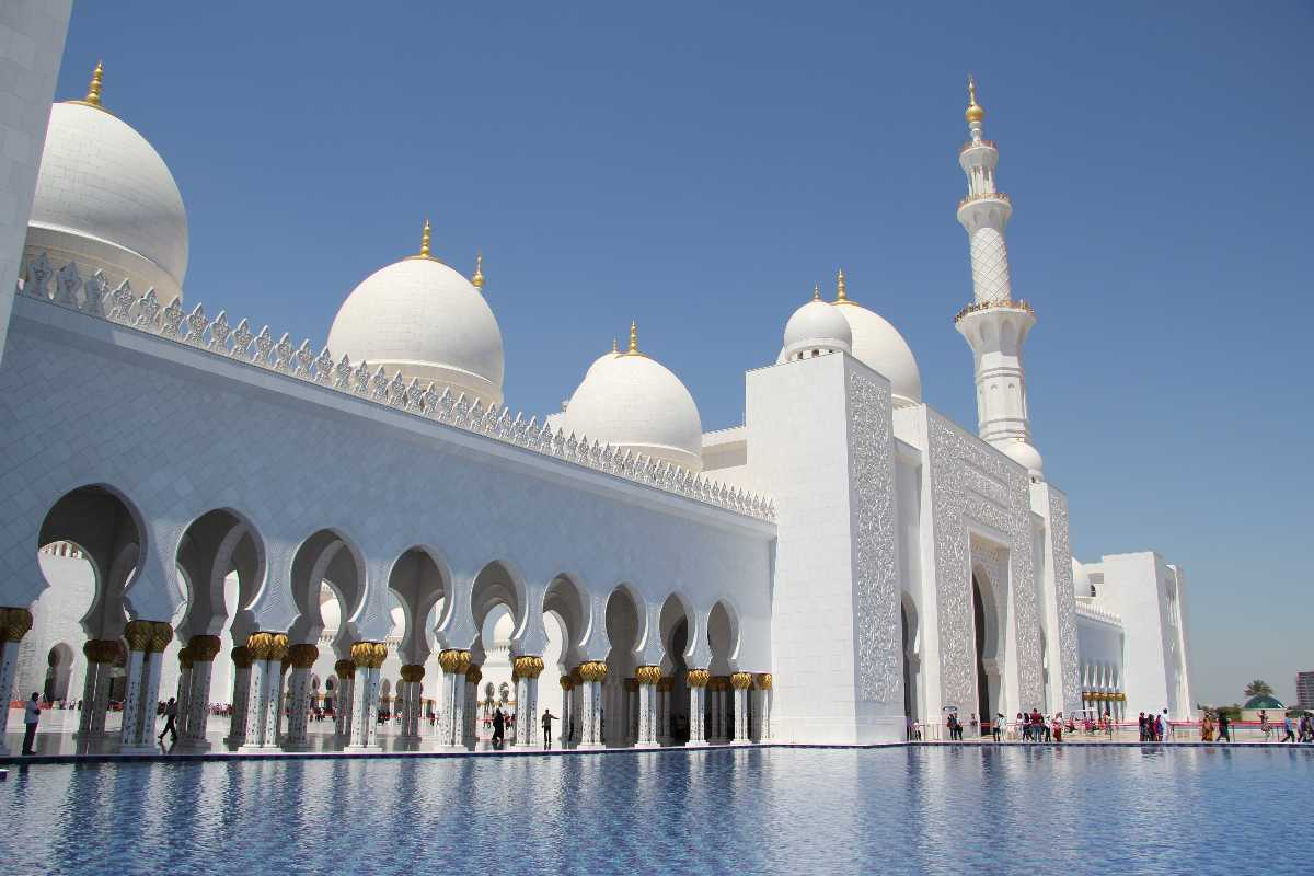 Sheikh Zayed Mosque, Dubai
