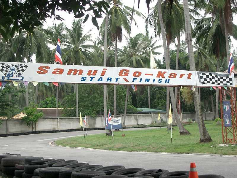 Samui Go-Kart, Family Places in Koh Samui
