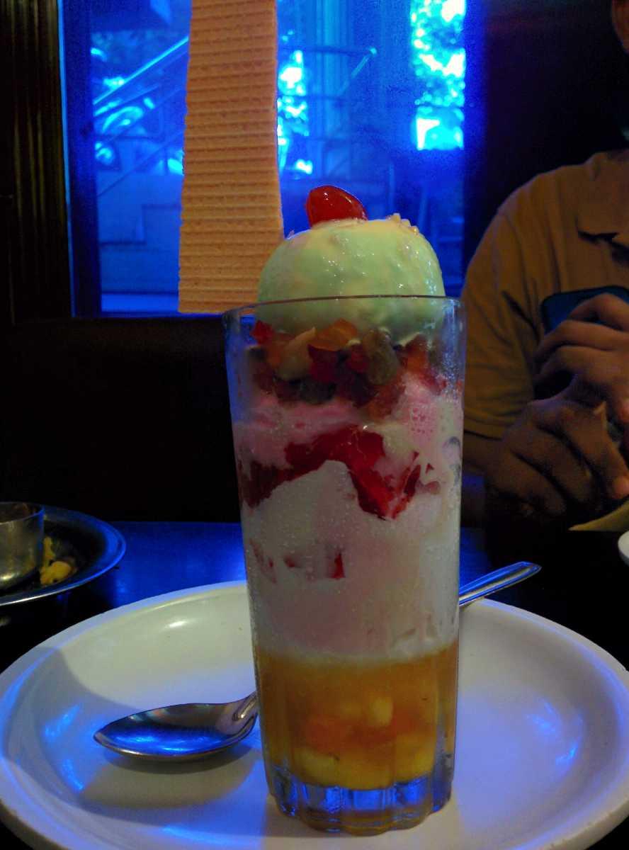Gadbad Ice Cream, Goan street food