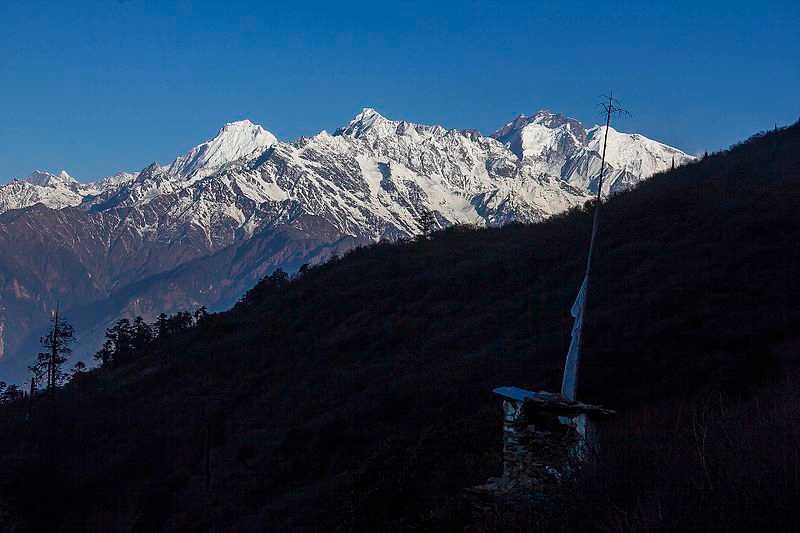 Himal Range, Suryachaur, Camping in Nepal
