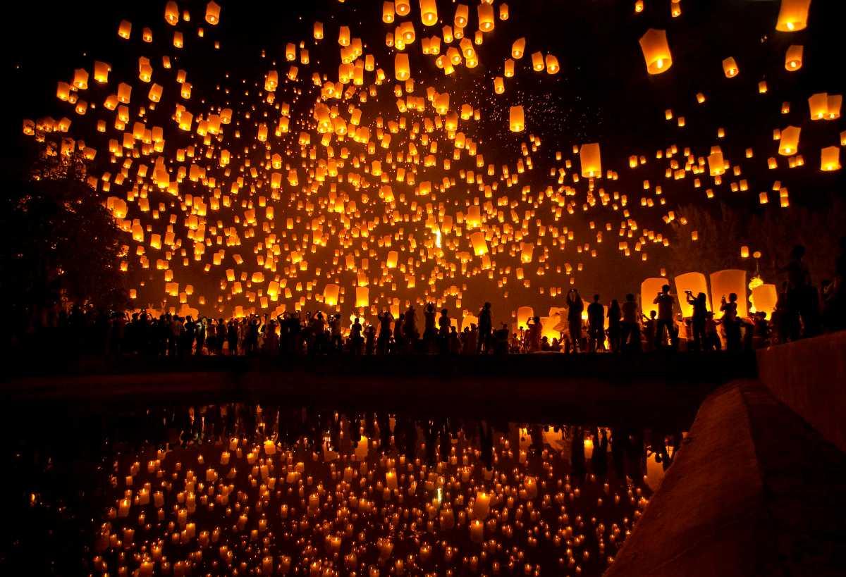 Udaipur Lantern Festival 2020 - The Unique Diwali of Udaipur
