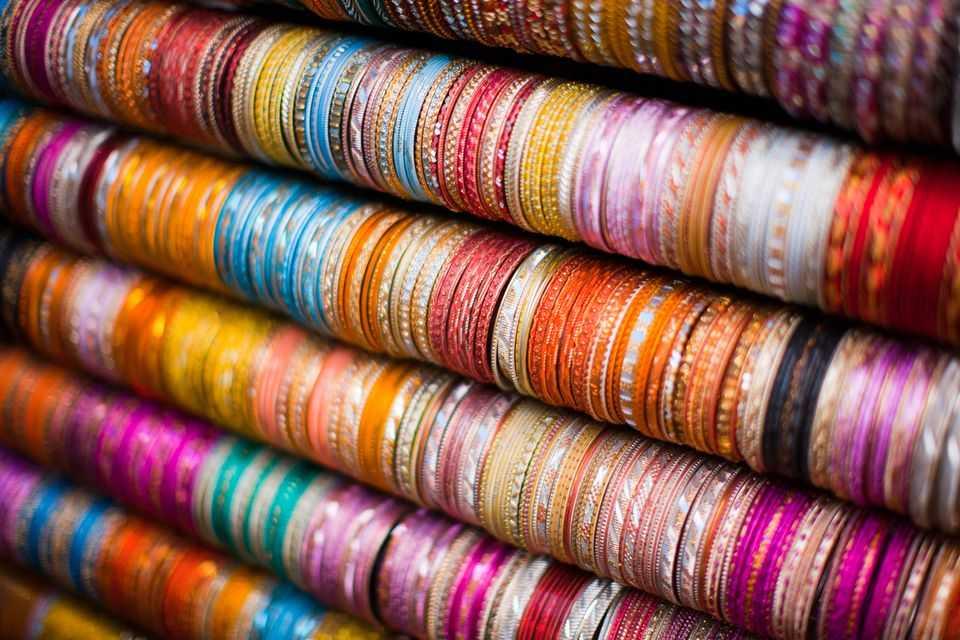 Bangles shop at CP Tank, Shopping in Mumbai