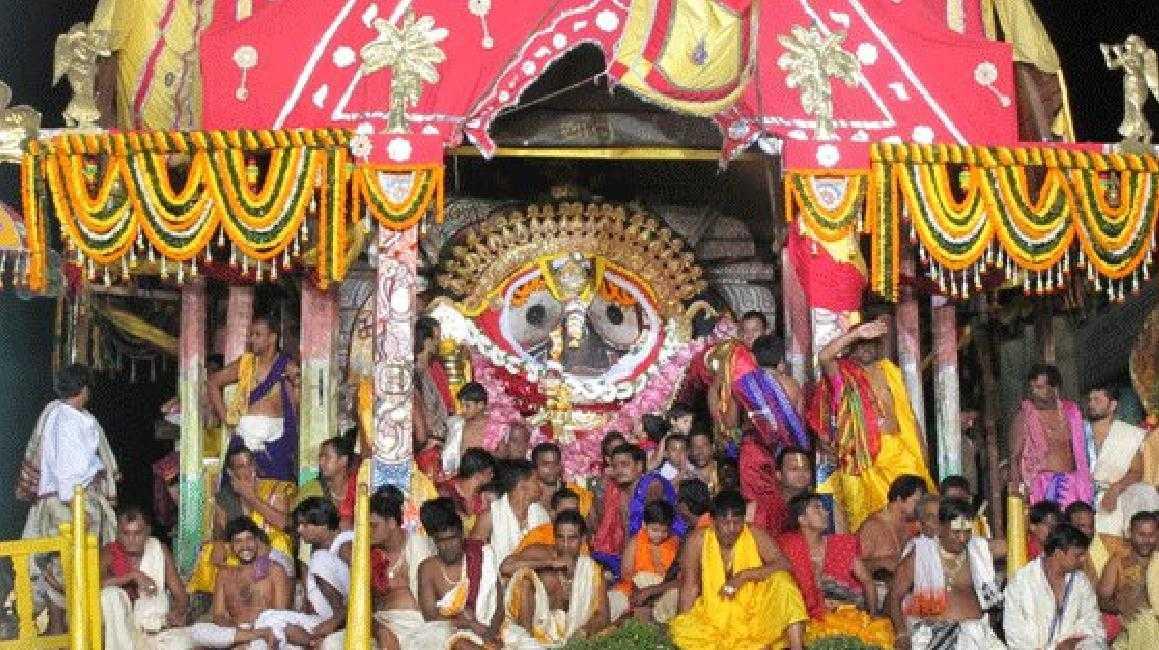Rath Yatra in Puri, Orissa