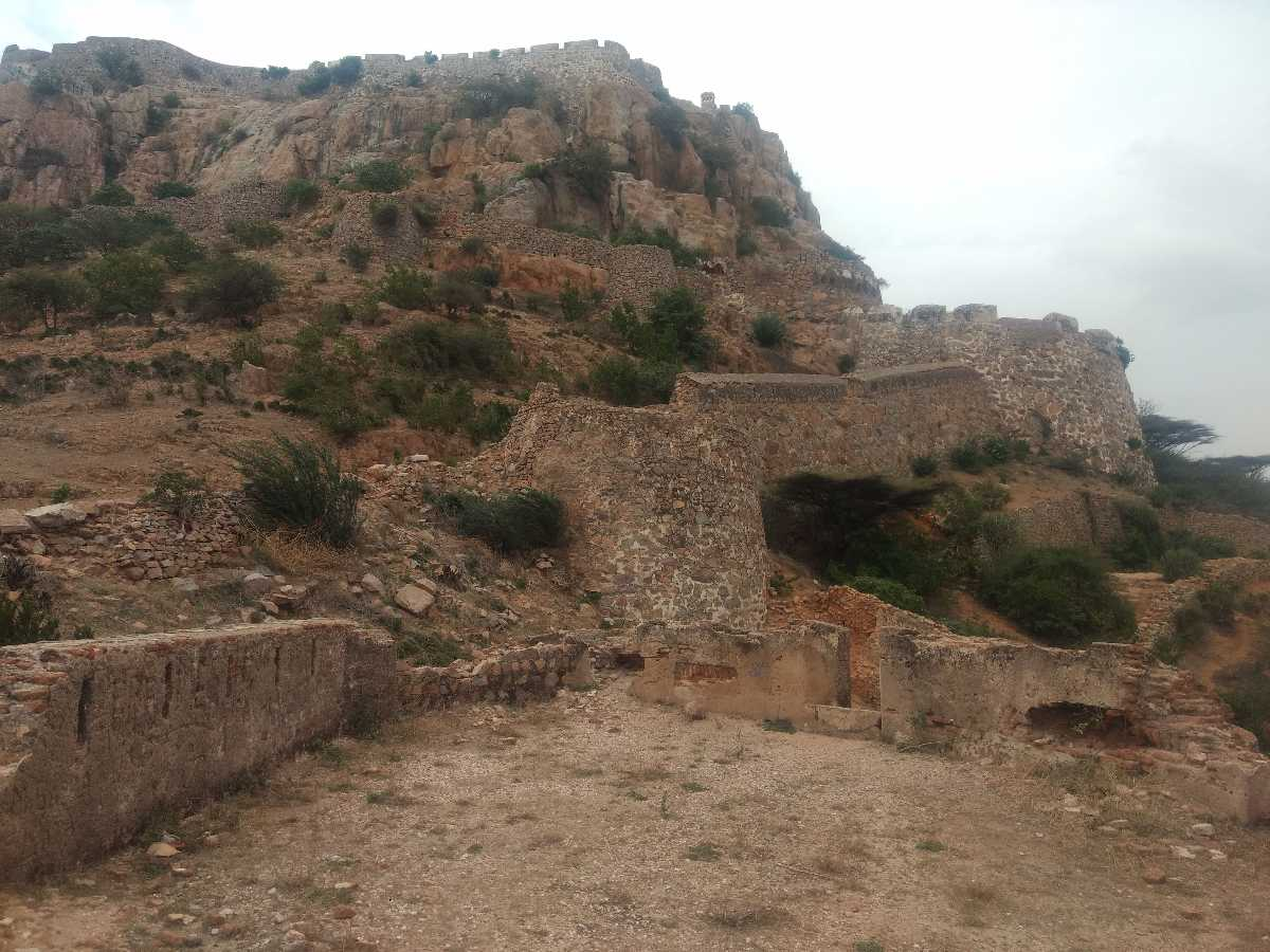 Architecture of Gooty Fort