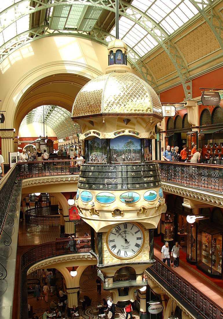 Great Australian Clock Queen Victoria Building Sydney