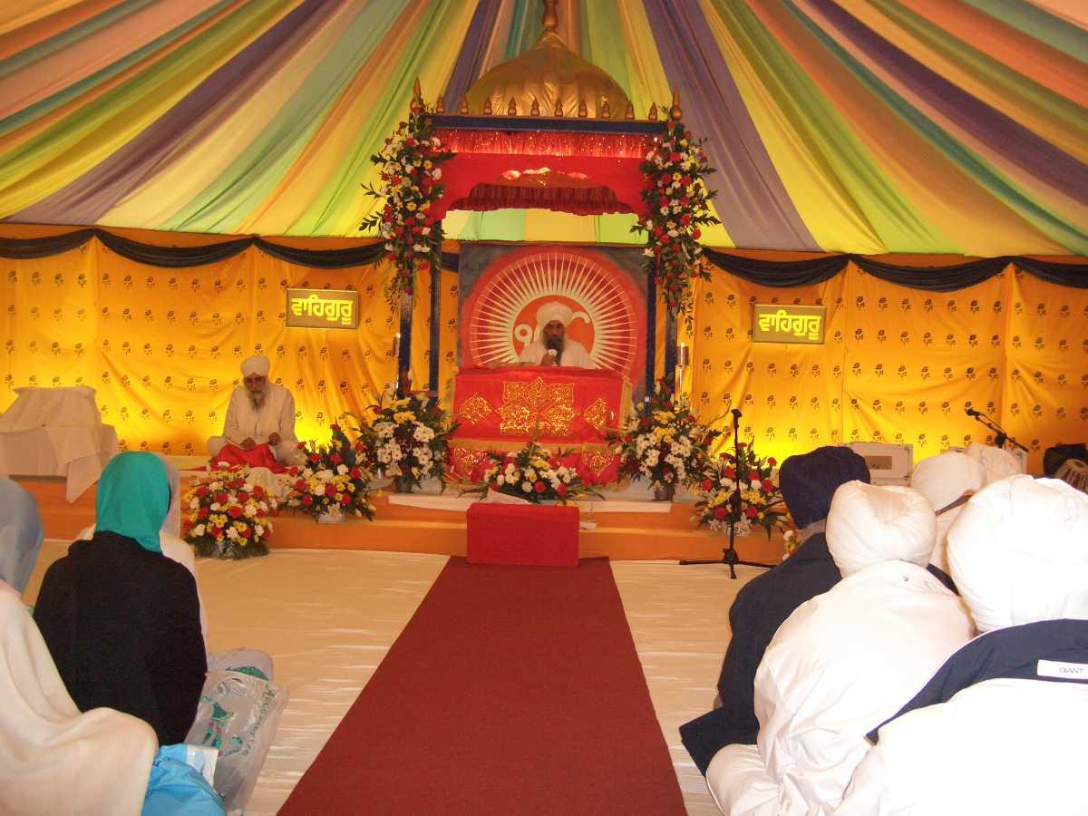 Gurudwara at Majnu Ka Tila